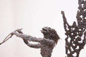 Brutalist Mermen Sculpture