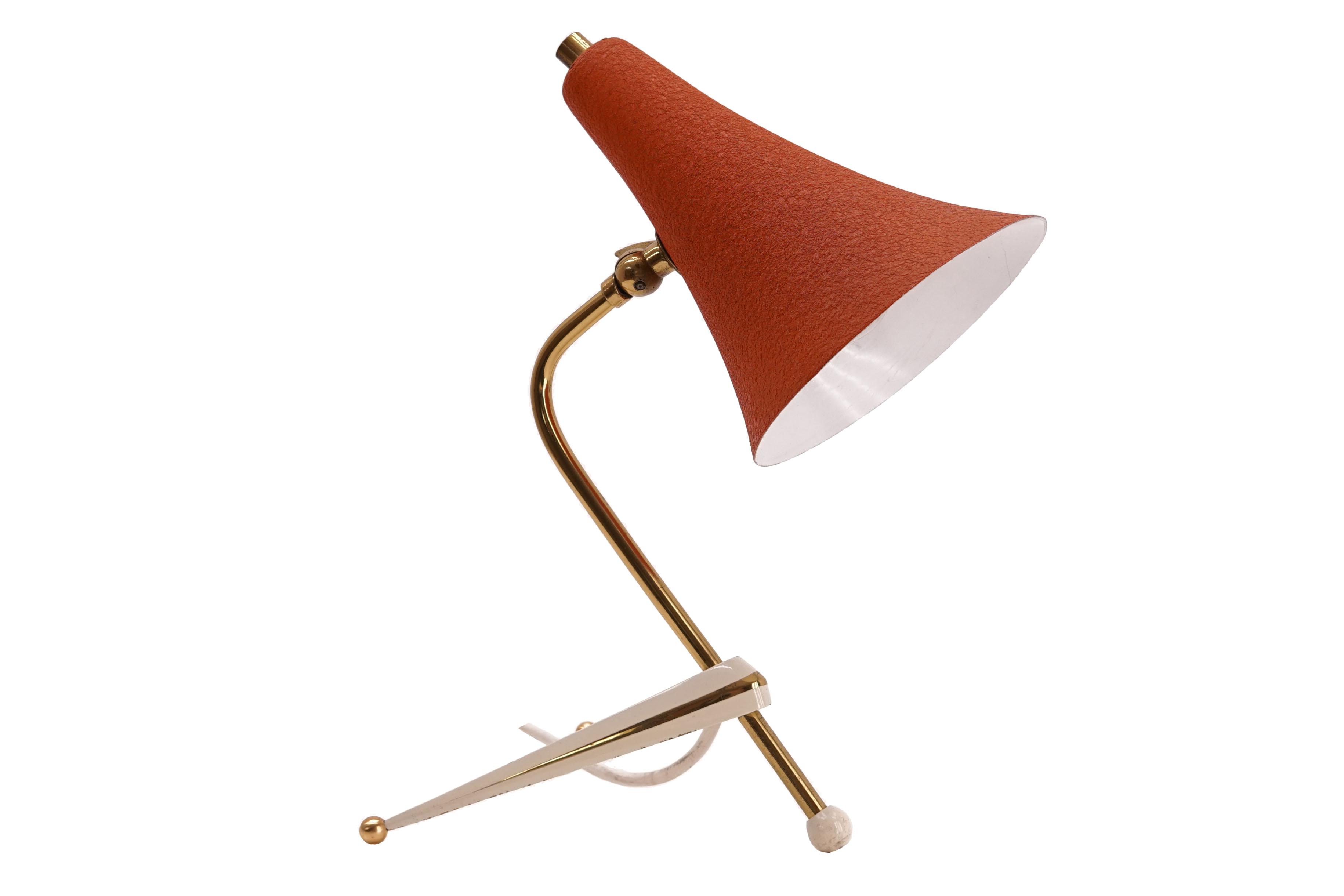 Mid Century Tripod Table Lamp Galerie Libelle
