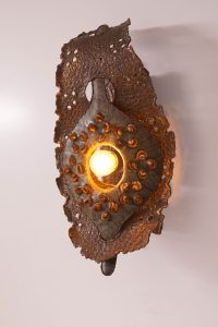Brutalist Wall Sconce