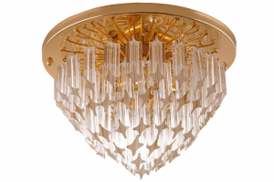 Venini Murano Glass Flush Mount