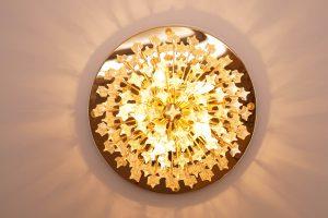 Venini Murano Glass Flush Mount