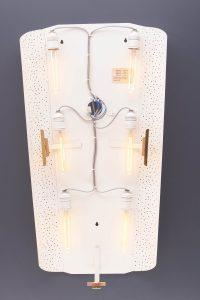 Vintage Illuminated Mirror by Ernest Igl