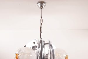 Mazzega Murano Glass Chandelier