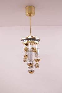 Large Doria Globe Ceiling Lamp