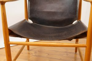 Vintage Safari Chair from Bovirke