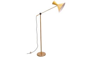 1950s Diabolo Floor Lamp