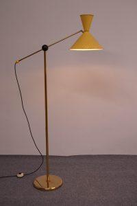 1950 Diabolo Floor Lamp