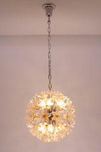 Murano Glass Flower Chandelier Veart