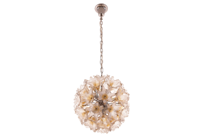 Murano Glass Flower Chandelier Veart