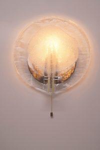 Kalmar Ice Glass Sconce